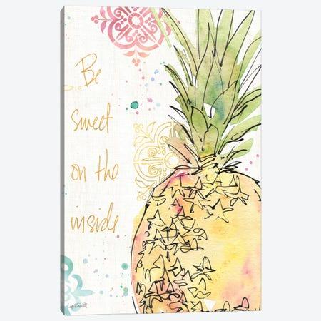 Palm Passion IX Canvas Print #WAC6019} by Anne Tavoletti Canvas Print