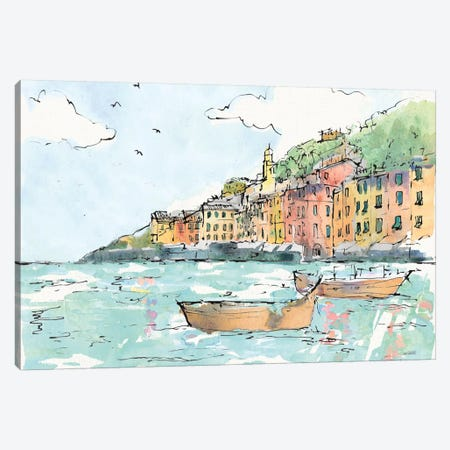 Portofino I Canvas Print #WAC6020} by Anne Tavoletti Canvas Wall Art