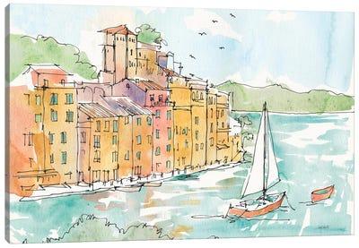 Portofino II Canvas Print #WAC6021