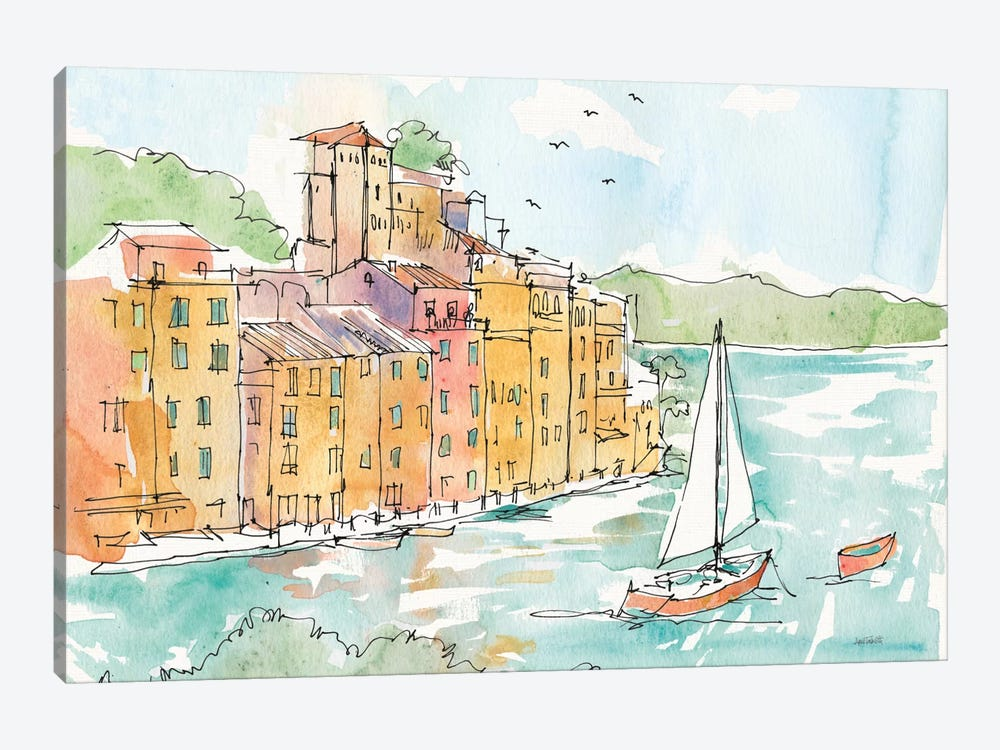 Portofino II by Anne Tavoletti 1-piece Art Print