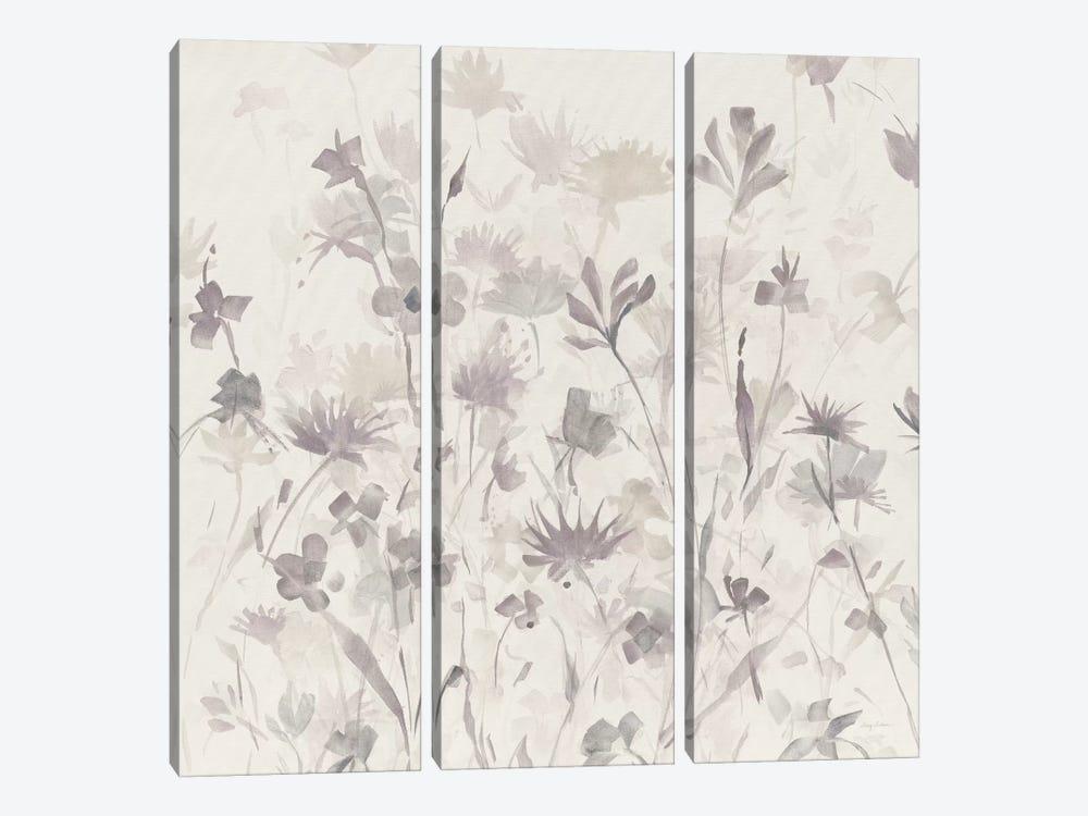 Muted Garden Shadows IV by Avery Tillmon 3-piece Canvas Art Print