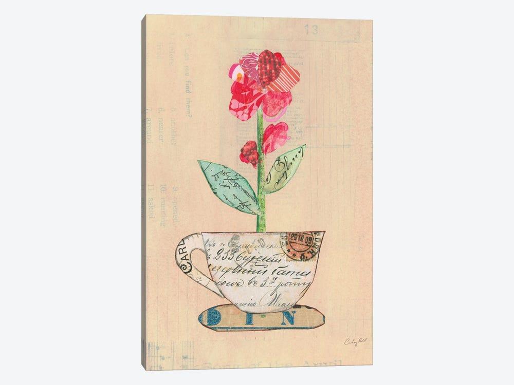 Teacup Floral IV by Courtney Prahl 1-piece Art Print