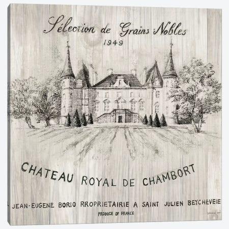 Chateau Chambort On Wood Canvas Print #WAC6030} by Danhui Nai Canvas Print