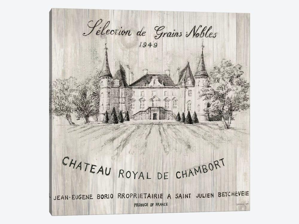 Chateau Chambort On Wood by Danhui Nai 1-piece Canvas Art Print