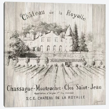 Chateau Royalle On Wood Canvas Print #WAC6031} by Danhui Nai Canvas Art Print