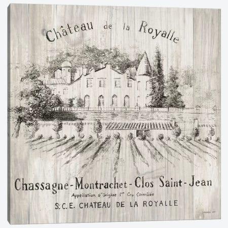 Chateau Royalle On Wood Canvas Print #WAC6031} by Danhui Nai Canvas Art Print