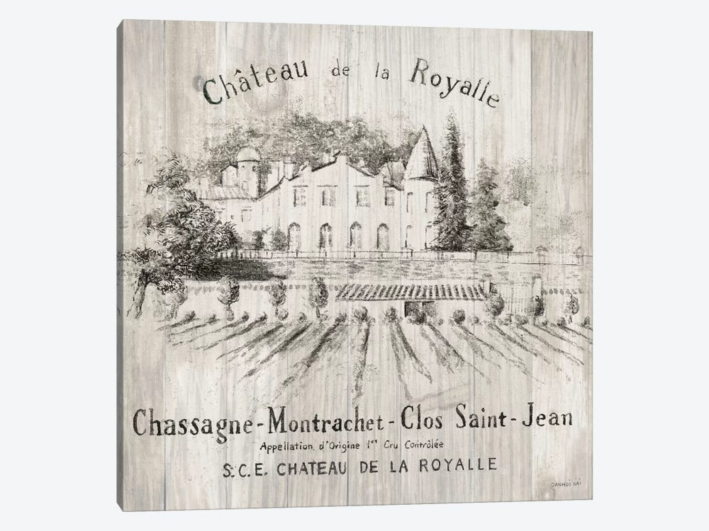 Chateau Royalle On Wood by Danhui Nai 1-piece Canvas Wall Art