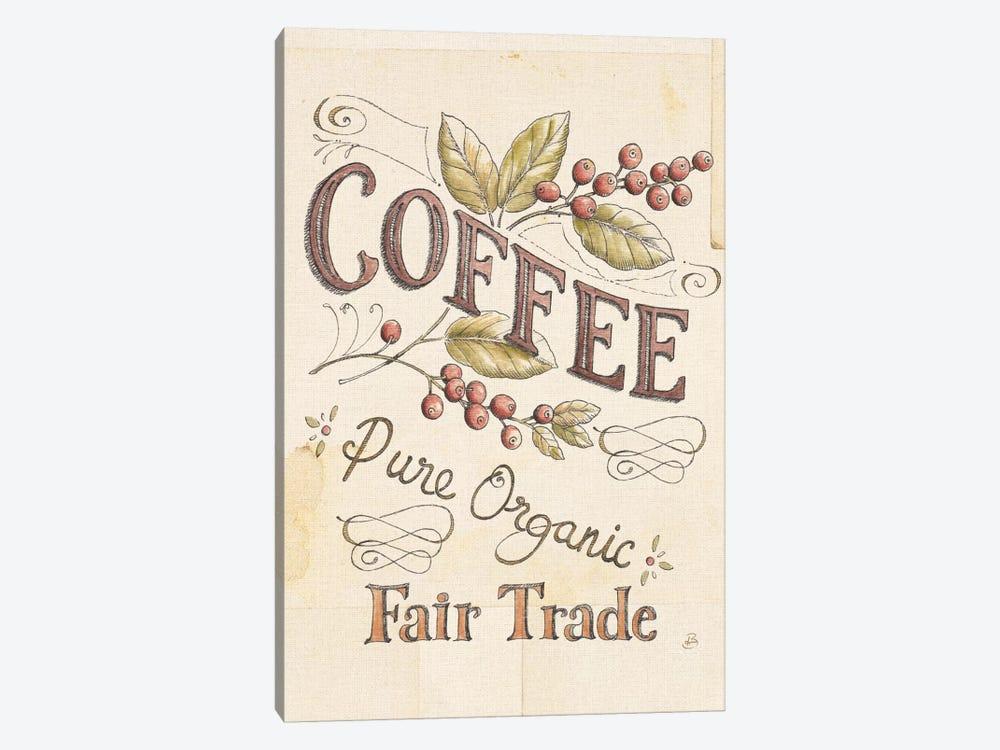Authentic Coffee VI by Daphne Brissonnet 1-piece Canvas Art Print