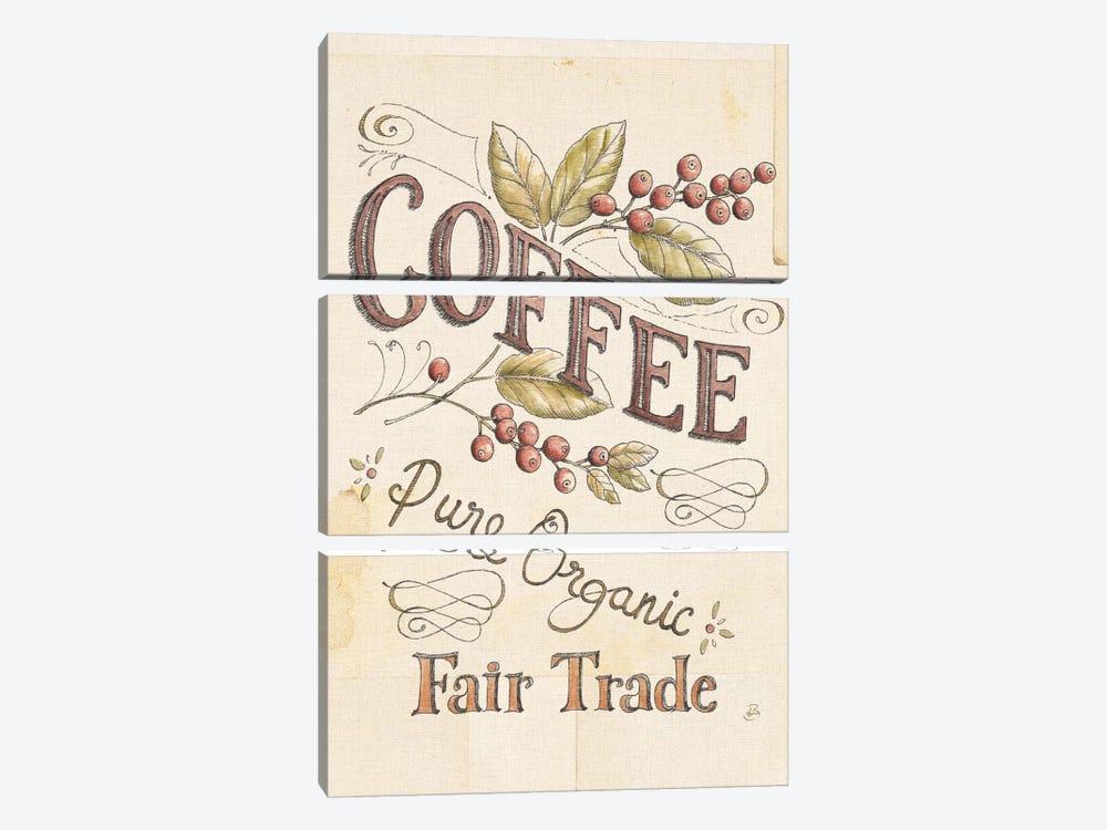 Authentic Coffee VI by Daphne Brissonnet 3-piece Art Print