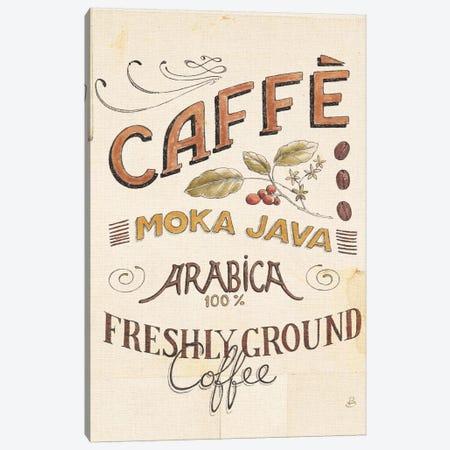 Authentic Coffee VII Canvas Print #WAC6035} by Daphne Brissonnet Canvas Wall Art