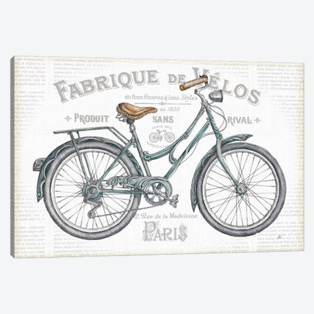 Bicycles I Canvas Print #WAC6040} by Daphne Brissonnet Canvas Wall Art