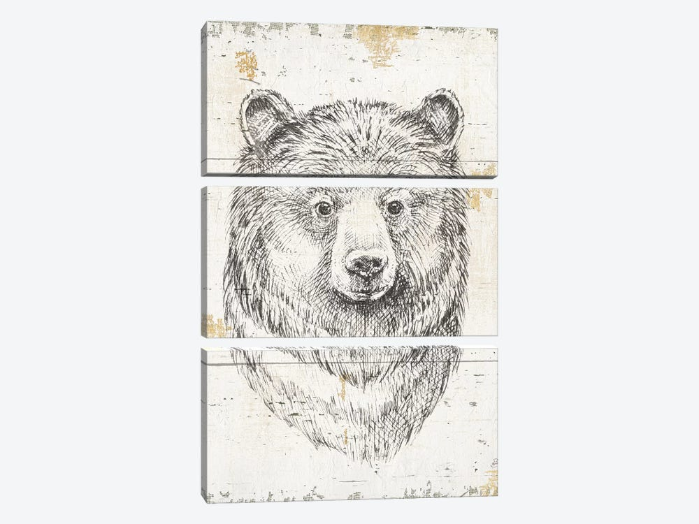 Wild & Beautiful IV by Daphne Brissonnet 3-piece Art Print
