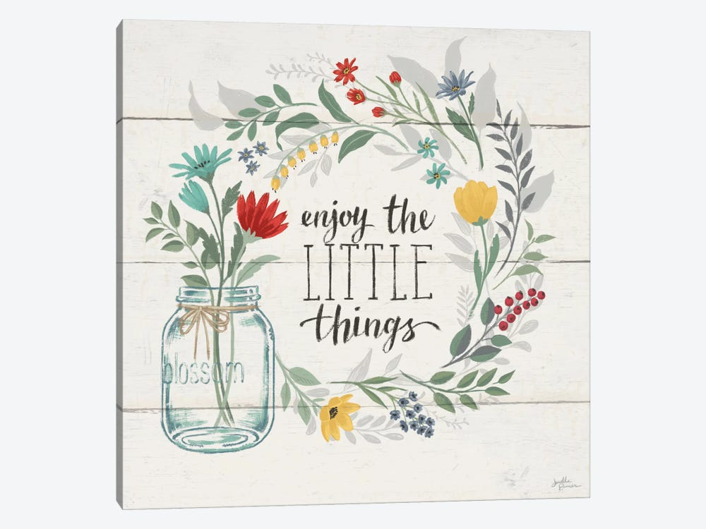 Blooming Thoughts II by Janelle Penner 1-piece Canvas Art