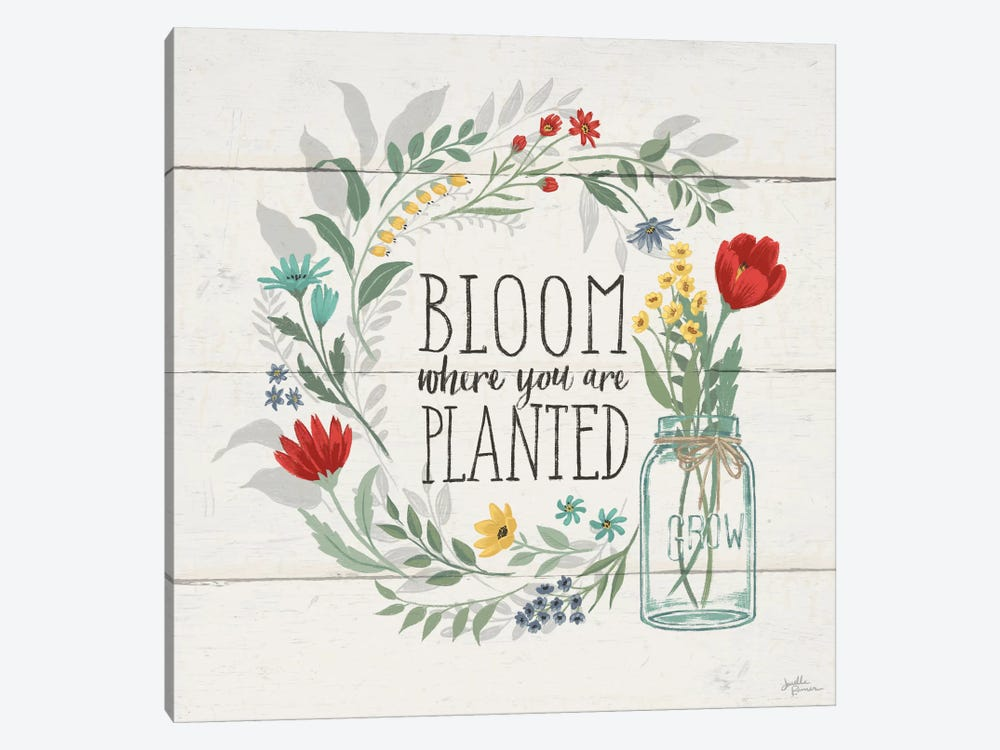 Blooming Thoughts III by Janelle Penner 1-piece Art Print