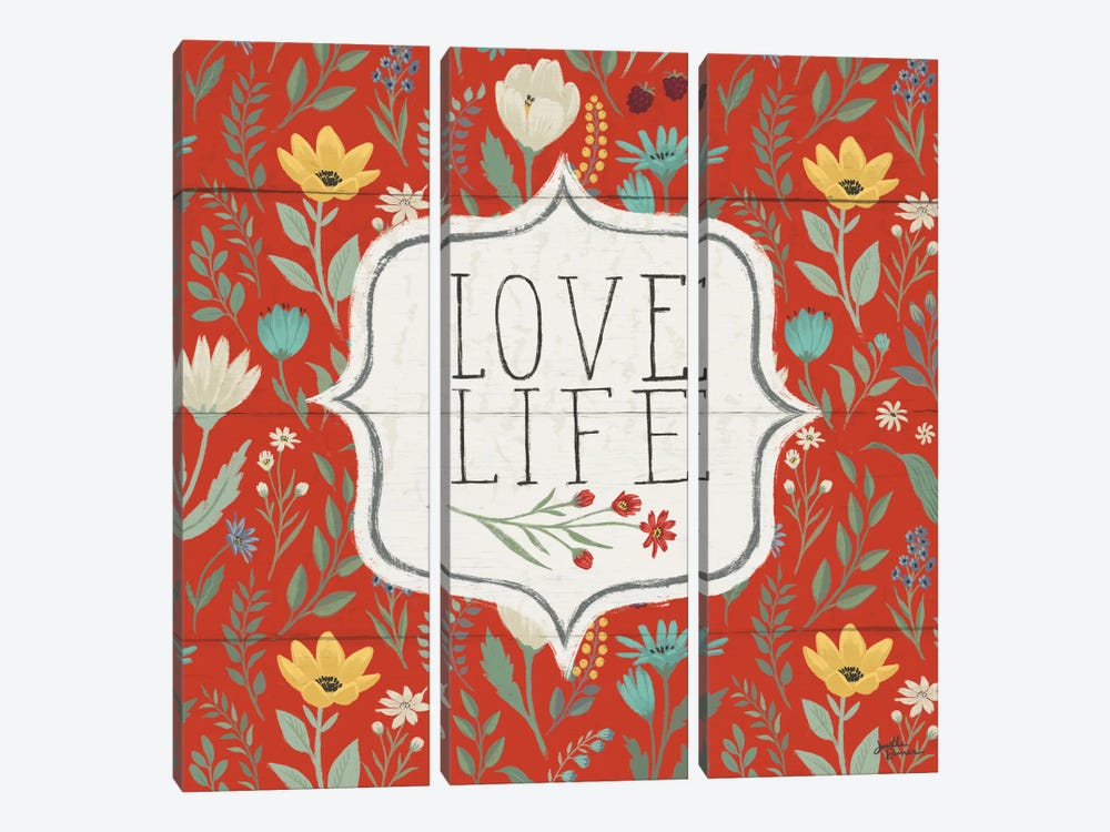 Blooming Thoughts V by Janelle Penner 3-piece Canvas Artwork