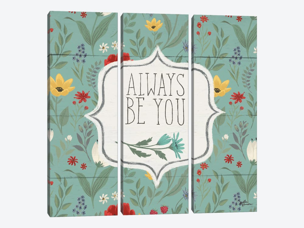 Blooming Thoughts VII by Janelle Penner 3-piece Canvas Artwork