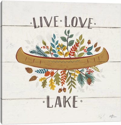 Peace & Lodge I Canvas Art Print