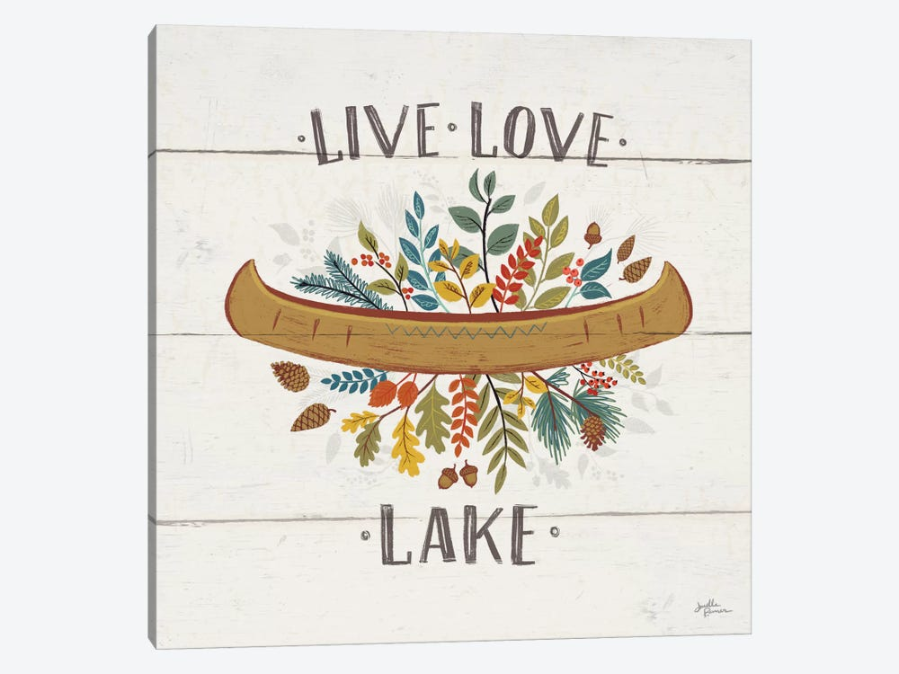 Peace & Lodge I by Janelle Penner 1-piece Canvas Artwork