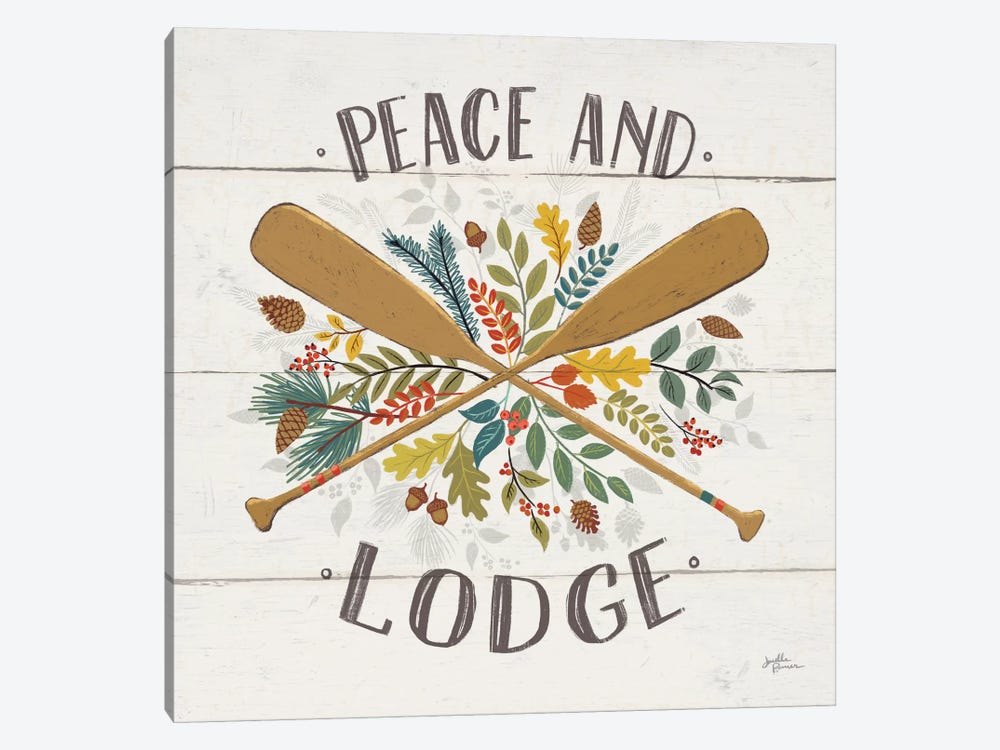Peace & Lodge IV by Janelle Penner 1-piece Art Print