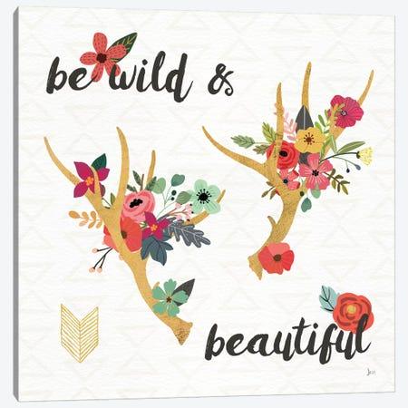 Boho Beauty I Canvas Print #WAC6071} by Jess Aiken Art Print