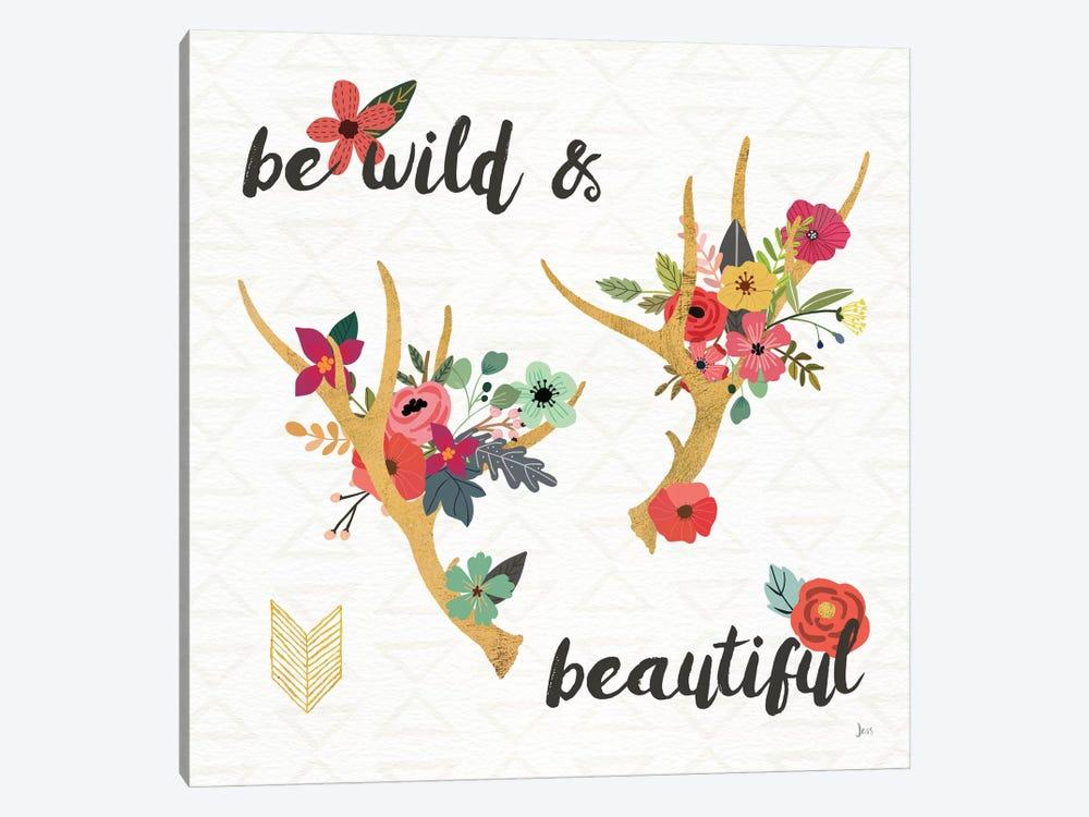 Boho Beauty I by Jess Aiken 1-piece Canvas Wall Art