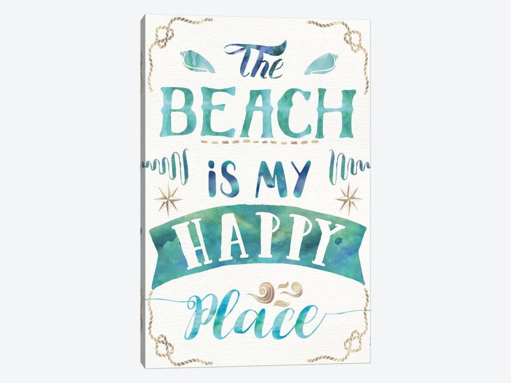 Love And The Beach II by Jess Aiken 1-piece Canvas Artwork
