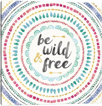 Wild & Free I Canvas Art Print