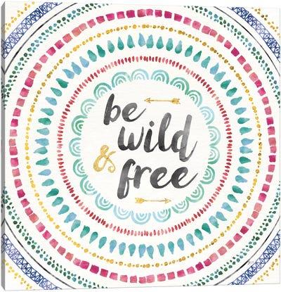 Wild & Free I Canvas Art Print