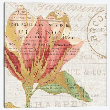 Bookshelf Botanical III Canvas Print #WAC6091} by Katie Pertiet Canvas Print