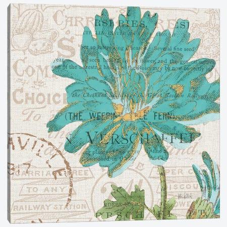 Bookshelf Botanical IV Canvas Print #WAC6092} by Katie Pertiet Canvas Print