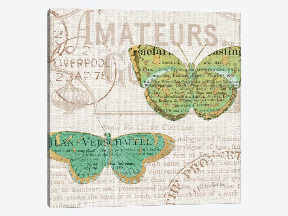 Bookshelf Botanical IX by Katie Pertiet 1-piece Canvas Wall Art