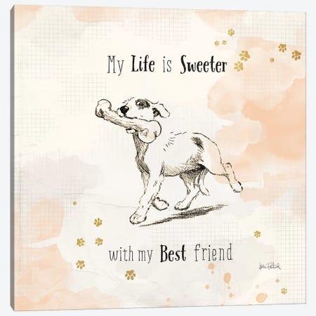Furry Friends II Canvas Print #WAC6099} by Katie Pertiet Canvas Art Print