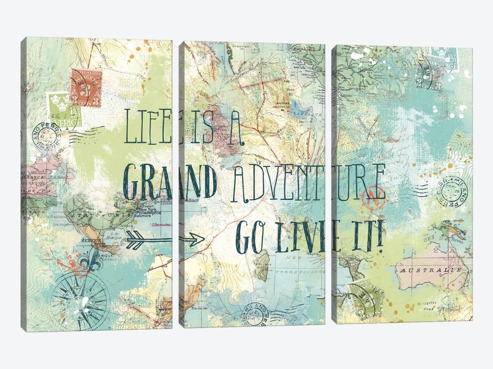 Map Sentiments I by Katie Pertiet 3-piece Art Print