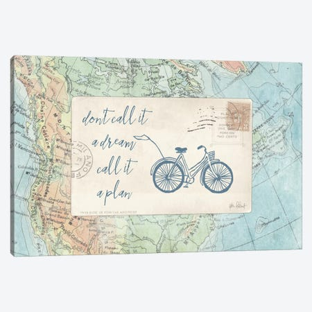 Travel Posts I Canvas Print #WAC6109} by Katie Pertiet Canvas Art Print