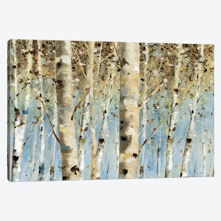 White Forest I Canvas Print #WAC610} by Lisa Audit Art Print