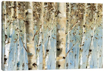 White Forest I Canvas Art Print