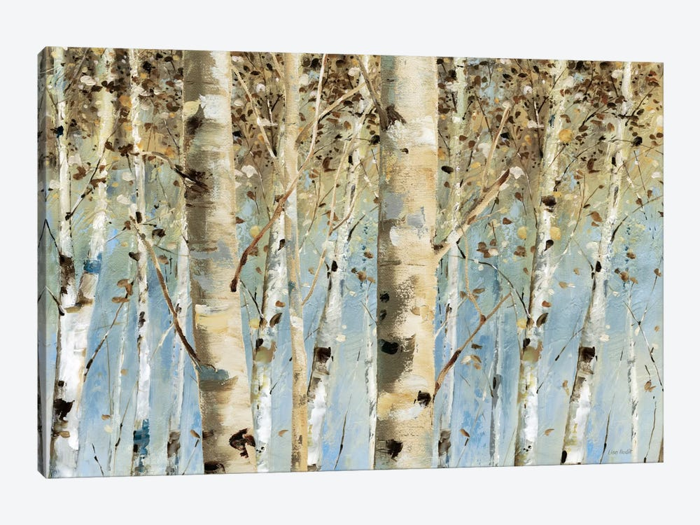 White Forest I by Lisa Audit 1-piece Canvas Print