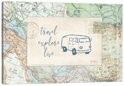 Travel Posts II Canvas Art Print