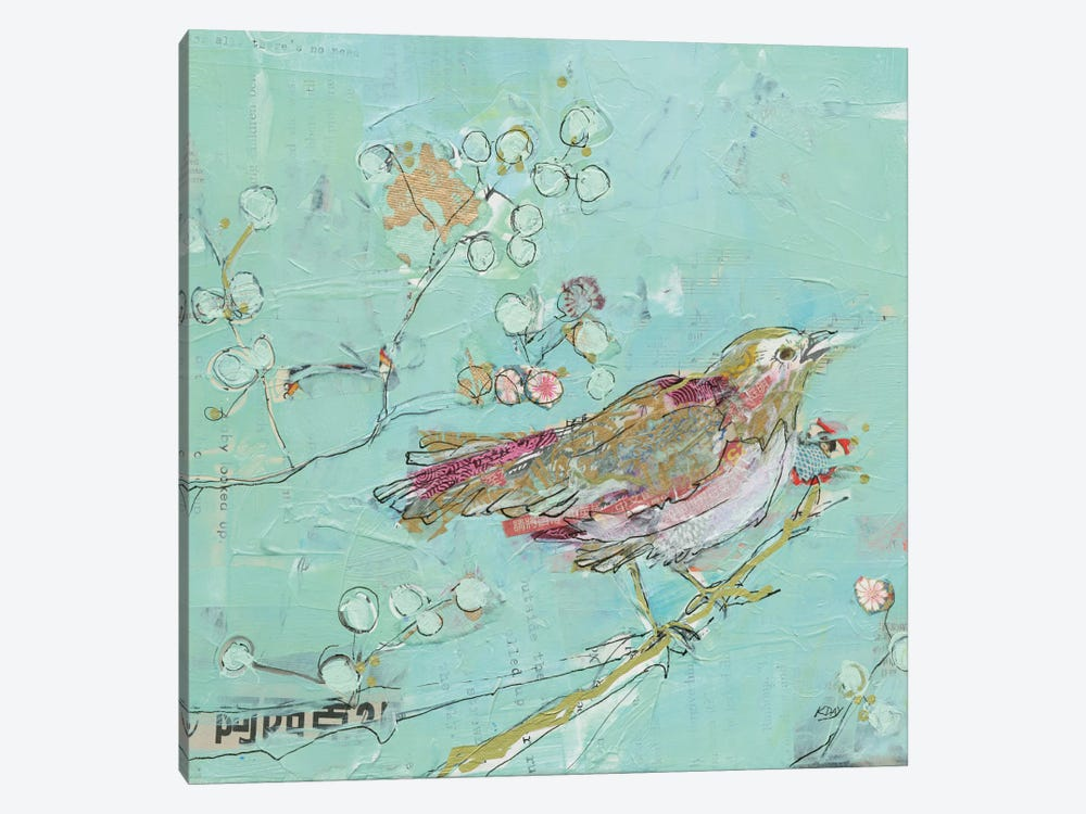 Birds Of A Feather by Kellie Day 1-piece Canvas Artwork