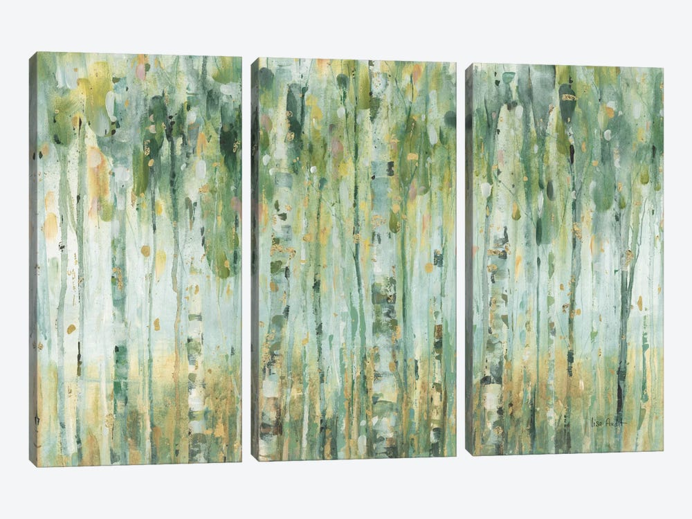 The Forest I by Lisa Audit 3-piece Canvas Wall Art