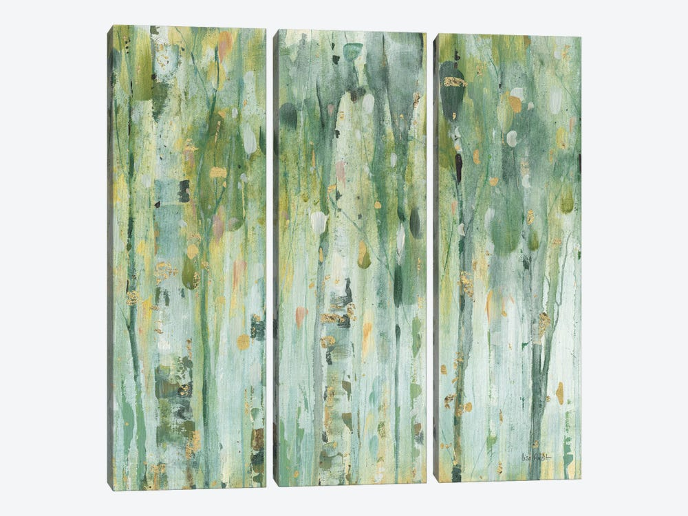 The Forest III by Lisa Audit 3-piece Canvas Art