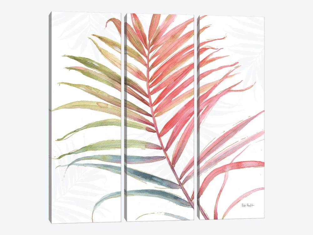 Tropical Blush VI by Lisa Audit 3-piece Canvas Wall Art