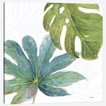 Tropical Blush VII Canvas Print #WAC6128} by Lisa Audit Art Print