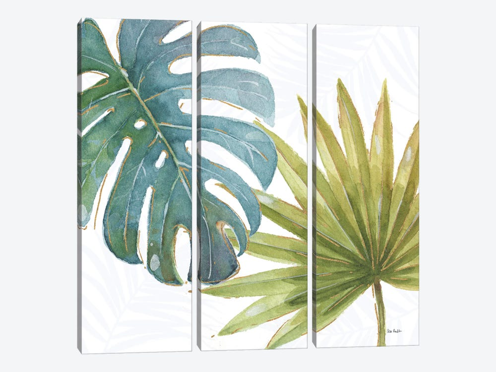 Tropical Blush VIII by Lisa Audit 3-piece Canvas Artwork