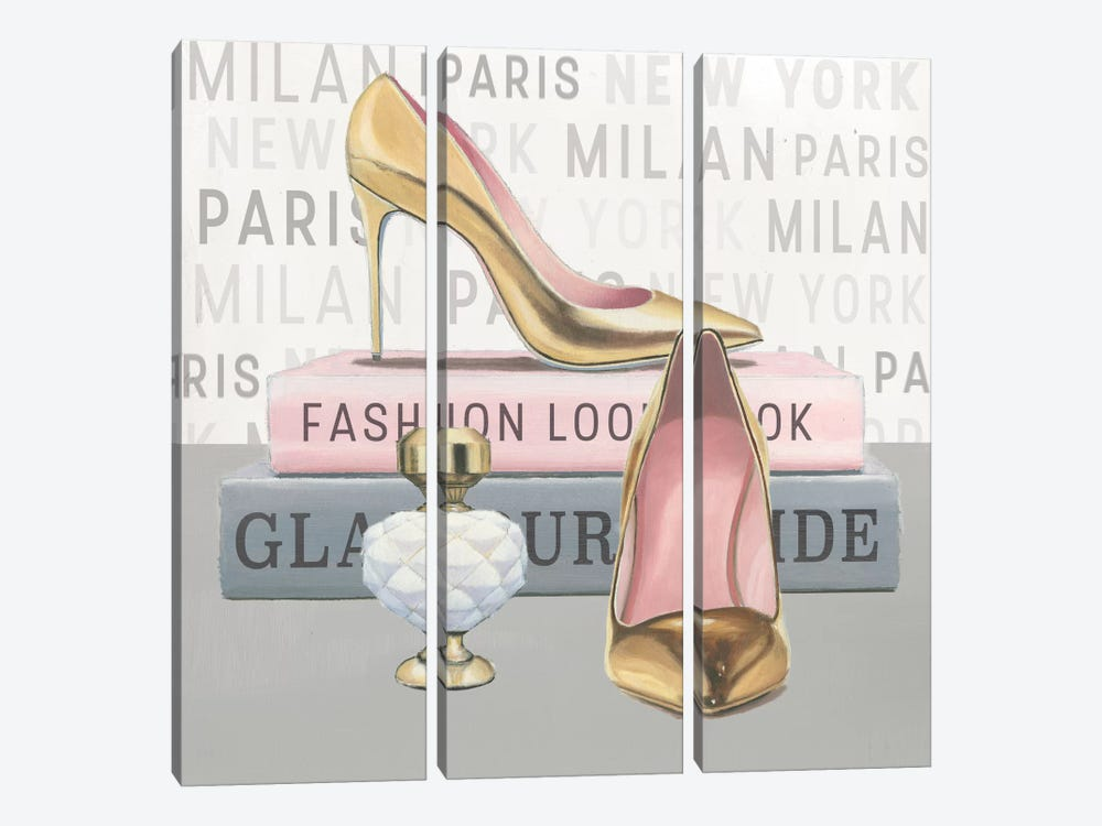 Forever Fashion V by Marco Fabiano 3-piece Canvas Artwork