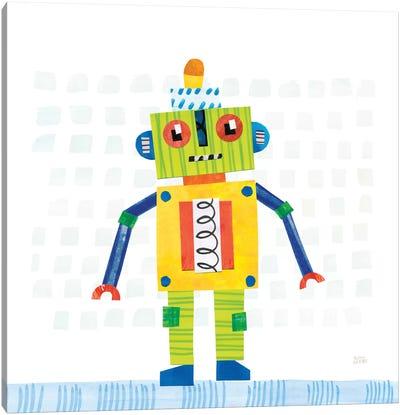 Robot Party IV Canvas Art Print