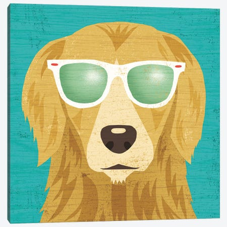 Golden Retriever I Canvas Print #WAC6149} by Michael Mullan Canvas Art Print