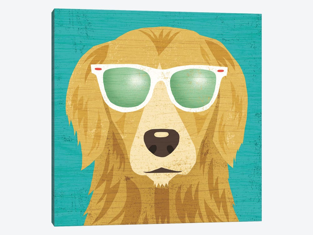 Golden Retriever I by Michael Mullan 1-piece Canvas Artwork