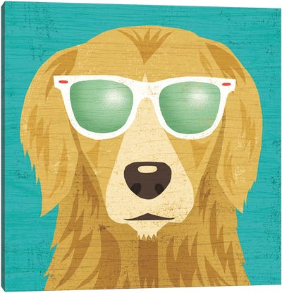 Golden Retriever I Canvas Art Print
