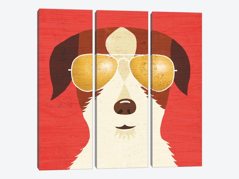 Terrier I by Michael Mullan 3-piece Art Print